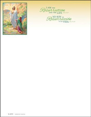 Our Risen Savior Bilingual Letterhead, 100  -