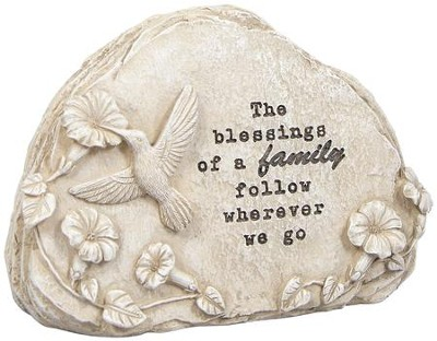 The Blessings Of A Family Follow, Message Stone  -