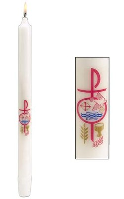 RCIA Candle, 7/8 inch x 12 inch  -