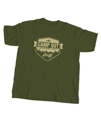 Camp Out Staff T-Shirt, X-Large (46 - 48)  -