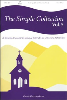 The Simple Collection, Volume 5 (Choral Book)  -