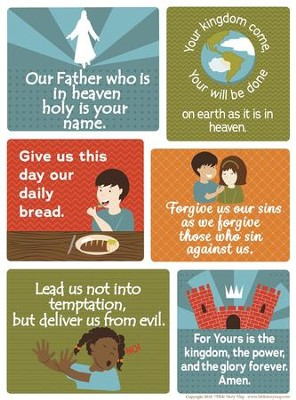 Lord's Prayer Poster (18 inch x 24 inch)  -