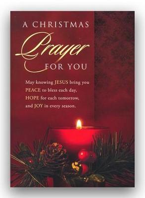 Christmas Prayer.Christmas Prayer Box Of 12 Christmas Cards Kjv