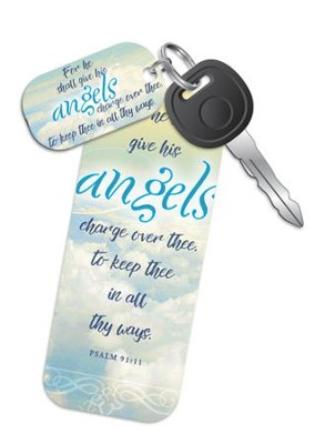 The Lord Shall Give His Angels Charge (Psalm 91:11, KJV) Truth Tag  -