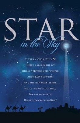 Star in the Sky Christmas Bulletins, 100  -
