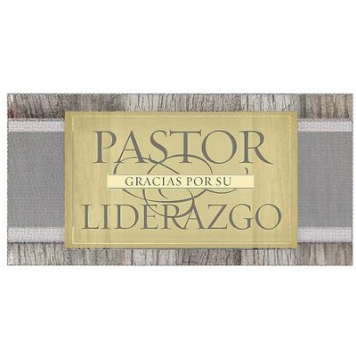 Gracias Pastor (2 Timoteo 1:7, RVR 1960) Sobres de Ofrenda, 100 (Thank You, Pastor Offering Envelopes, 100)  -