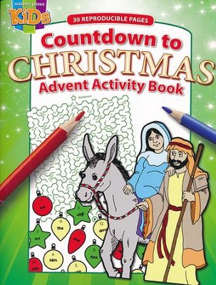Countdown to Christmas Advent Activity Book  -