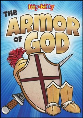 Armor of God: itty Bitty Activity Book  -