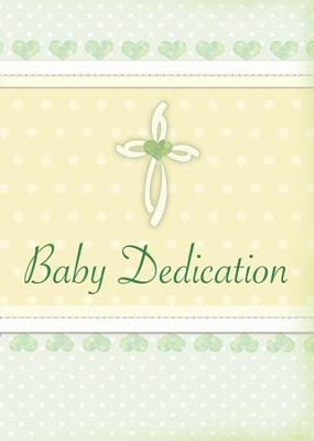 Baby Dedication Folded Certificates (Proverbs 22:6) Pack of 6  -