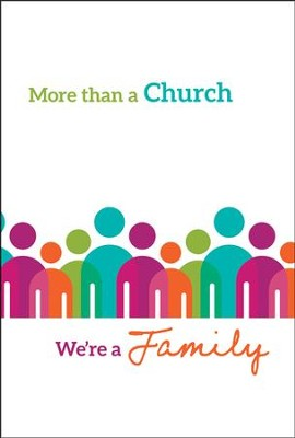 More Than a Church (1 John 1:3) Pack of 12 Folders  -