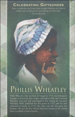 Phillis Wheatley Galatians 3:28 (KJV) Bulletins, 100   -