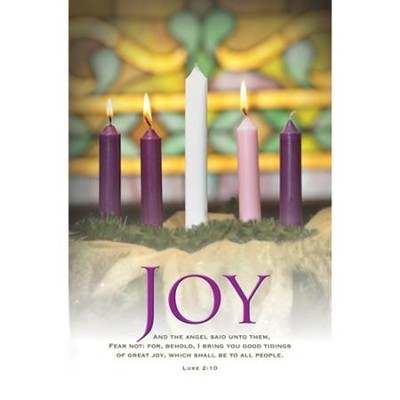 Joy (Luke 2:10, KJV) Bulletins, 100   -