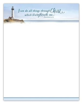 I Can Do All Things (Philippians 4:13) Letterhead, 100  -