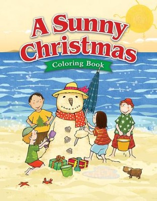 A Sunny Christmas Coloring Book--Ages 5 to 7  -