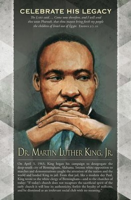 Dr. Martin Luther King, Jr. Exodus 3: 7, 10 (KJV) Bulletins, 100   -