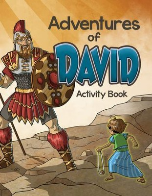 Adventures of David Activity Book--Ages 8 to 10  -