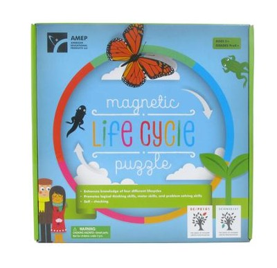 Magnetic Lifecycle Puzzle  -