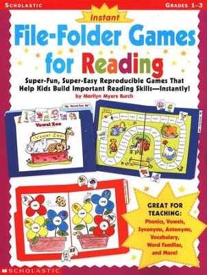 Instant File-Folder Games for Reading   -     By: Marilyn Myers Burch