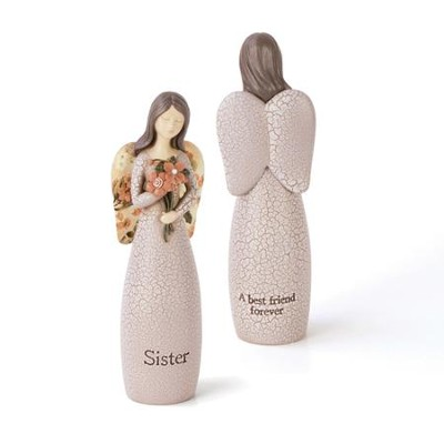 Sister, Angel Blessing Figurine  -