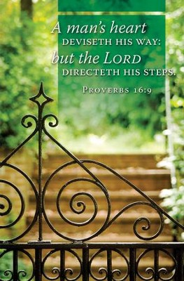 The Lord Directeth His Steps (Proverbs 16:9, KJV) Bulletins, 100   -