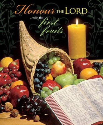 Honour the Lord (Proverbs 3:9, KJV) Large Bulletins, 100   -