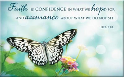Faith Is Confidence Magnet  -
