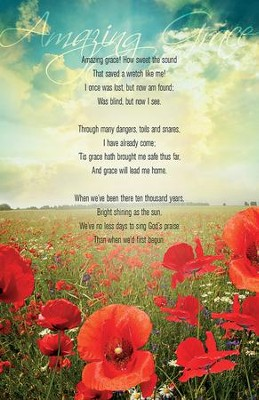 Amazing Grace Poppies Bulletins, 50  -