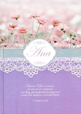Diarios Mujeres de la Biblia: Ana  (Women of the Bible Journals: Hannah)  -