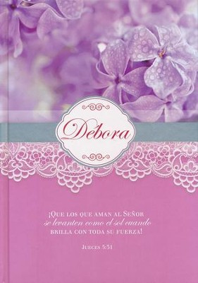 Diarios Mujeres de la Biblia: Debora  (Women of the Bible Journals: Deborah)  -
