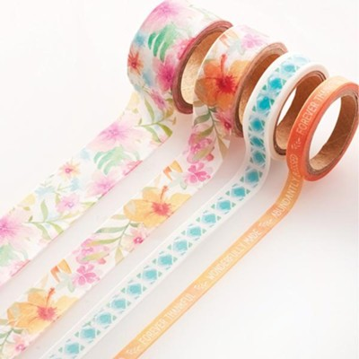 Sing for Joy Washi Tape, 4 Pieces  -