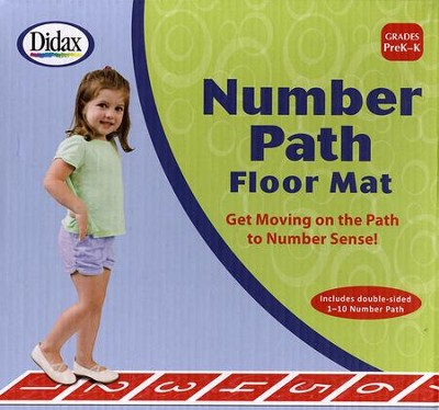 Number Path Floor Mat  -