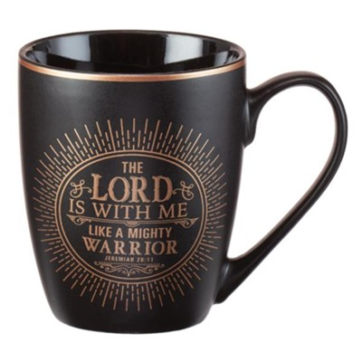 The Lord Is With Me Mug  -