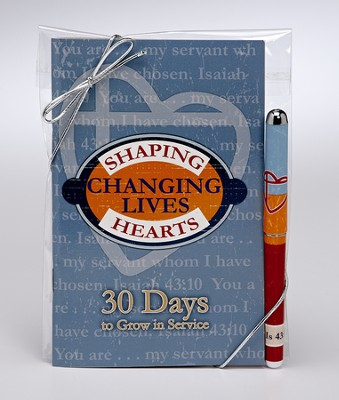 Shaping Hearts Pen and Book  -