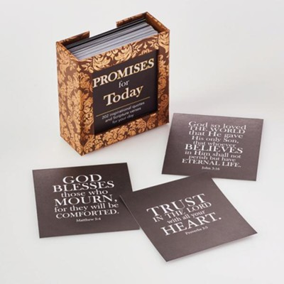 Promises for Today Scripture Cards, Box of 202  -