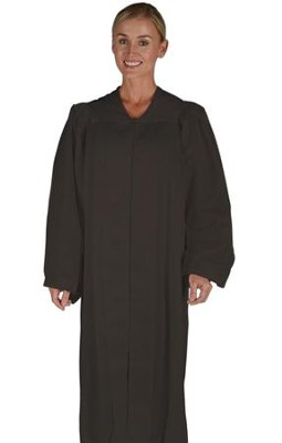 Traditional Choir Robe, Black, Small  -