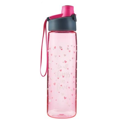 Do All Things In Love, Water Bottle  -