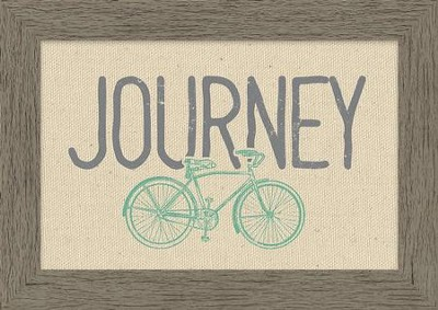 Journey Framed Canvas  -