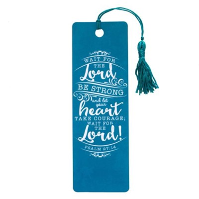 Wait for the Lord, Tassel Bookmark  -