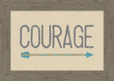 Courage Framed Canvas  -