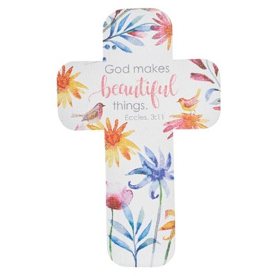 God Makes Beautiful Things, Cross Bookmark  -