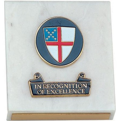 Episcopal Excellence Paperweight   -