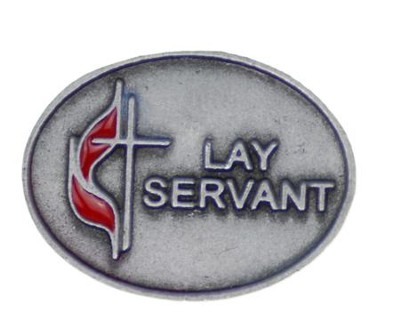 UMC Lay And Servant Lapel Pin  -