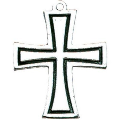 Flared Cross Pendant  -