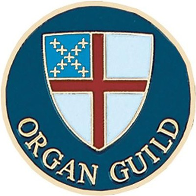 Episcopal Organ Guild Pin  -