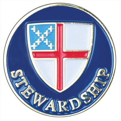 Episcopal Stewardship Pin  -