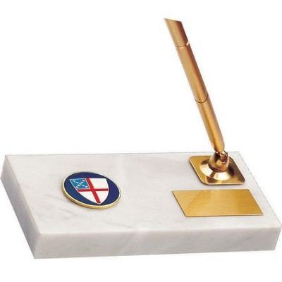 Episcopal Shield Pen Stand 3 inch x 5 inch  -