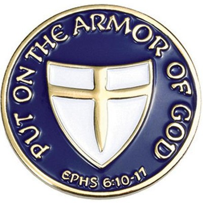 Put On Armor Pin  -
