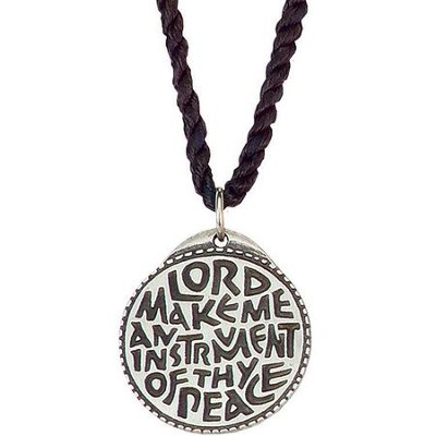 Make Me an Instrument Prayer Pendant  -