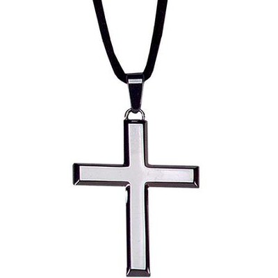 Stainless Steel Latin Cross Pendant   -