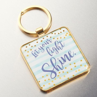 Live A Life Of Love Keyring  -